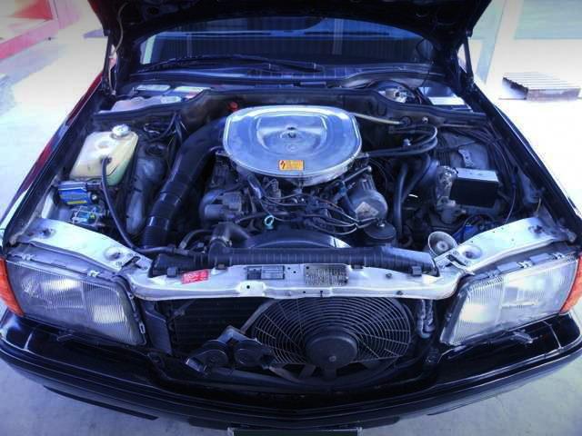 W126 BENZ 380SEL ENGINE
