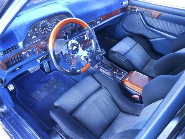 W126 BENZ 380SEL INTERIOR