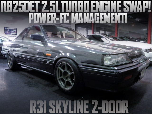 RB25DET TURBO ENGINE SWAP R31 SKYLINE