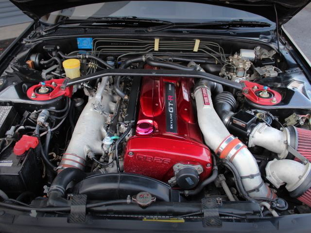 R34 GT-R RB26 TWINTURBO ENGINE INTO R32 GT-R V-SPEC2