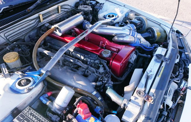 RB26 N1 ENGINE WITH HKS GT-SS TWINTURBO