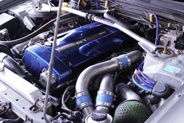 BLUE VALVE COVER FOR RB26DETT ENGINE
