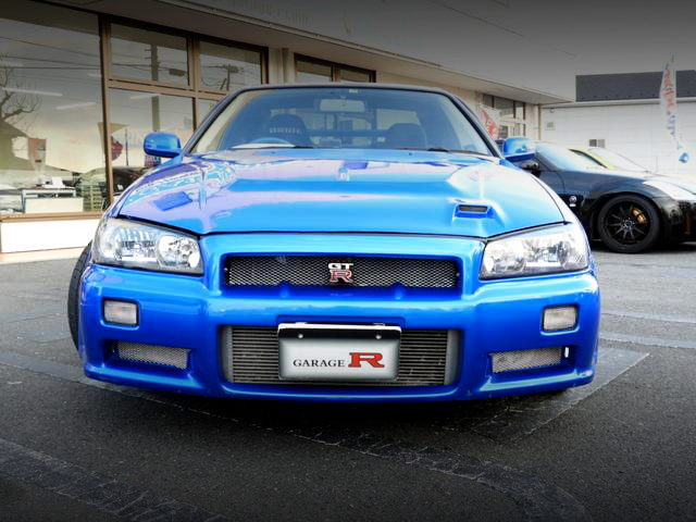 FRONT GT-R FACE CONVERSION