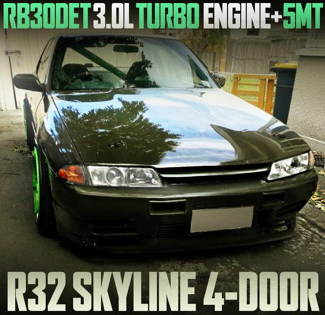 RB30DET TURBO ENGINE R32 SKYLINE 4-DOOR