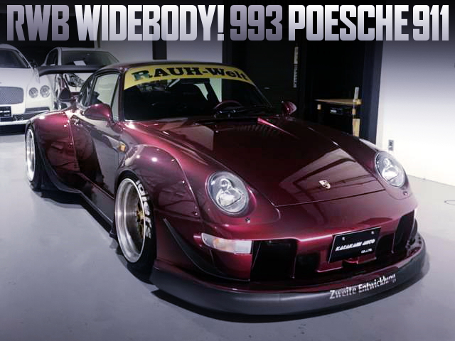 RWB WIDEBODY 993 PORSCHE911 CARRERA TIPTRONIC S