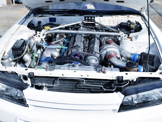 TOP-MOUNT RX6 TWIN TURBOCHARGED RB26
