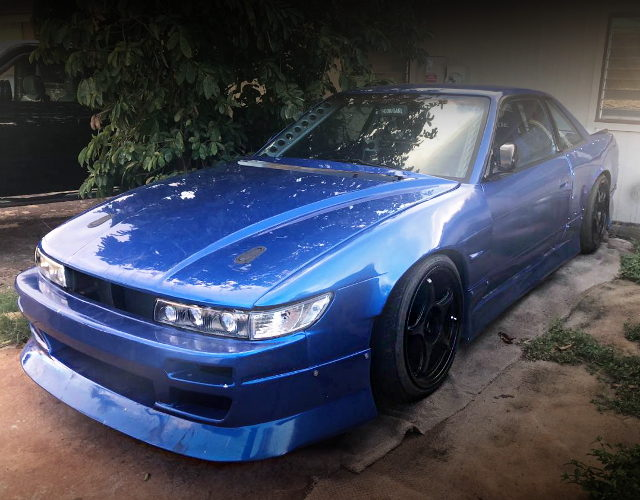 FRONT EXTERIOR OF S13 240SX