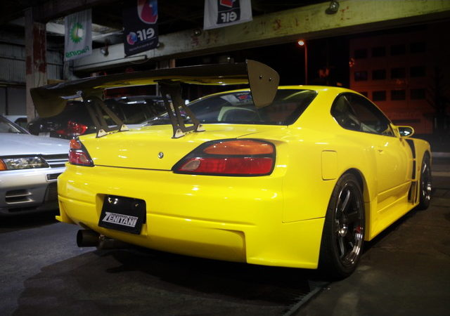 REAR EXTERIOR SEQUENTIAL WIDEBODY S15 SILVIA