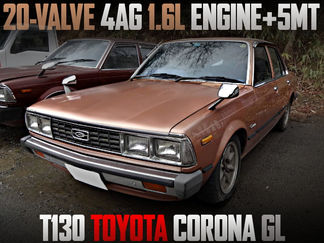 AE111 20V 4AG ENGINE AND 5MT WITH T130 CORONA GL