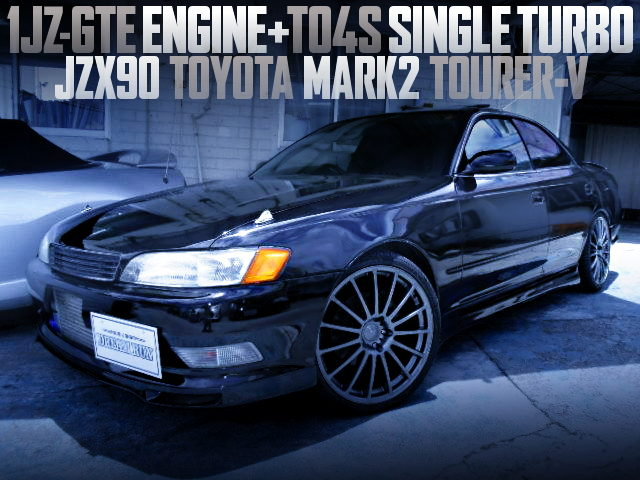 TO4S SINGLE TURBOCHARGED JZX90 MARK2 TOURER-V