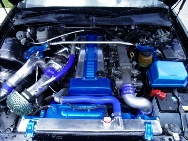 NON VVTi 1JZ-GTE ENGINE WITH TO4S SINGLE TURBO