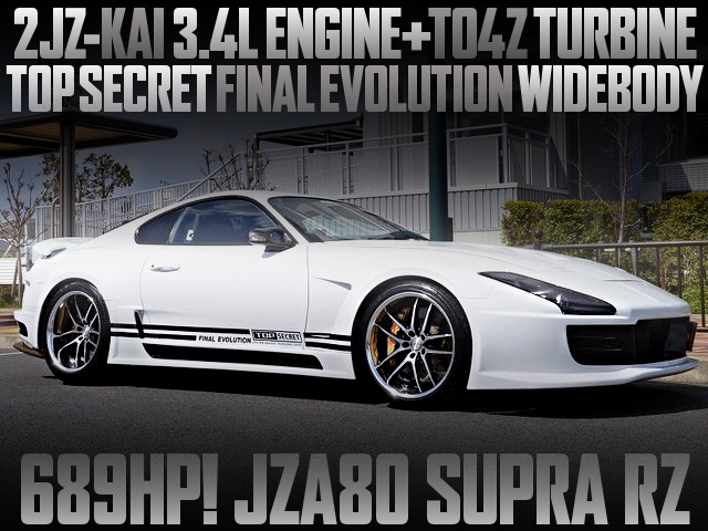TOP SECRET FINAL EVOLUTION WIDEBODY JZA80 SUPRA