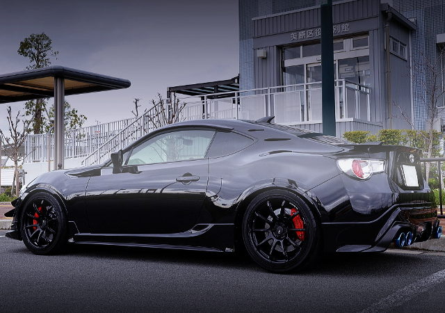 REAR EXTERIOR RUNDUCE TUNING TOYOTA 86 GT LIMITED