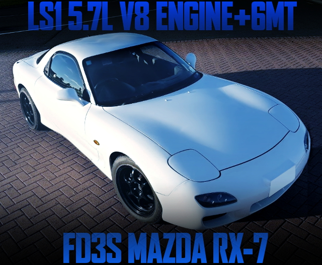 LS1 V8 ENGINE WITH 6MT FOR FD3S RX7