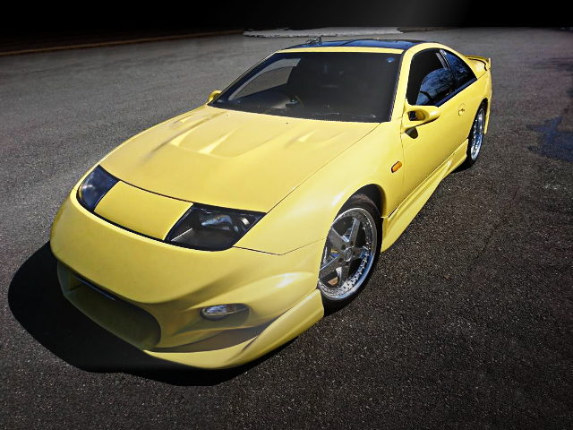FRONT EXTERIOR Z32 FAIRLADY Z YELLOW