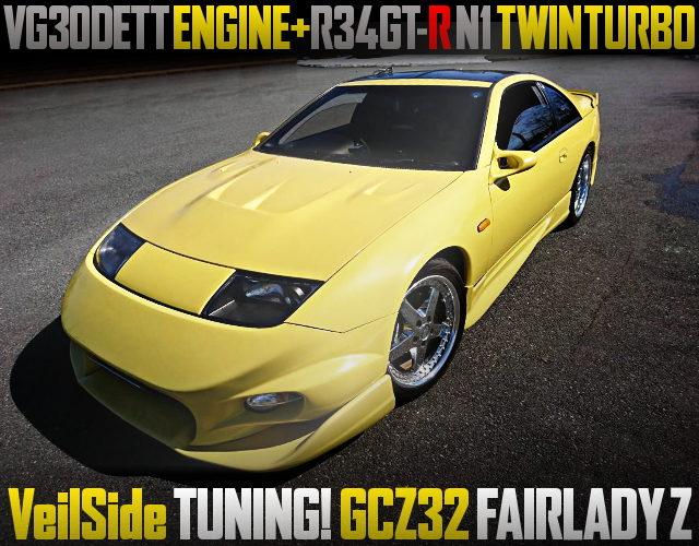 R34GTR N1 TWINTURBOCHARGED Z32 300ZX