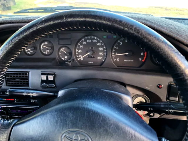 SPEED CLUSTER FOR AE92 COROLLA