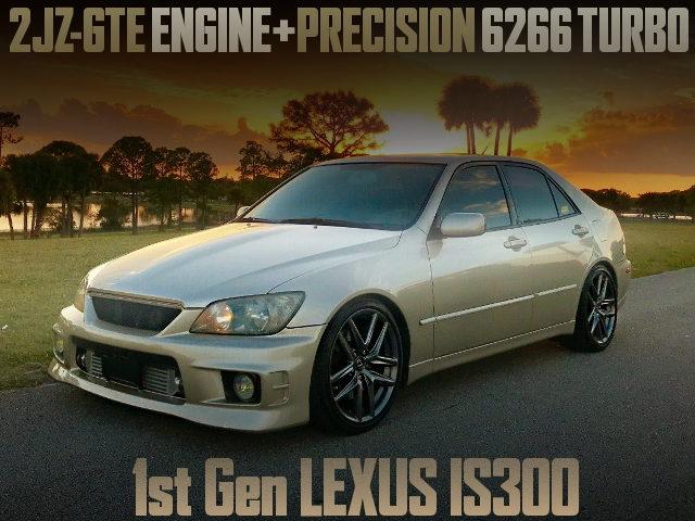 2JZ-GTE PRECISION 6266 SINGLE TURBO FOR 1st Gen LEXUS IS300