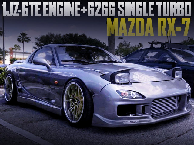 1JZ-GTE 6266 SINGLE TURBO ENGINE SWAPPED FD RX7