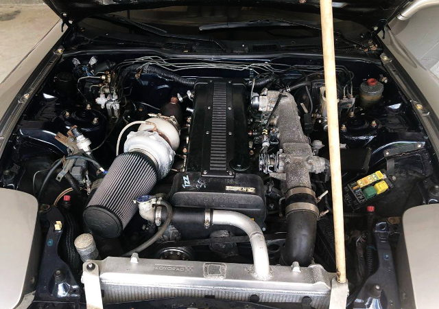 1JZ-GTE ENGINE WITH 6266 TURBOCHARGER