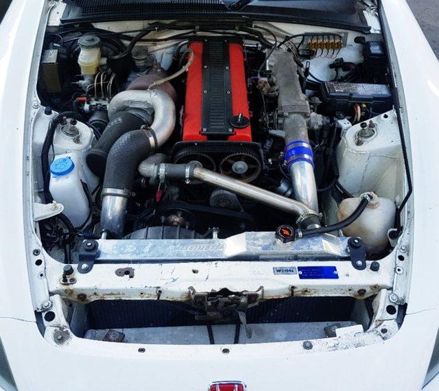 1JZ-GTE ENGINE WITH HOLSET HX35 TURBO