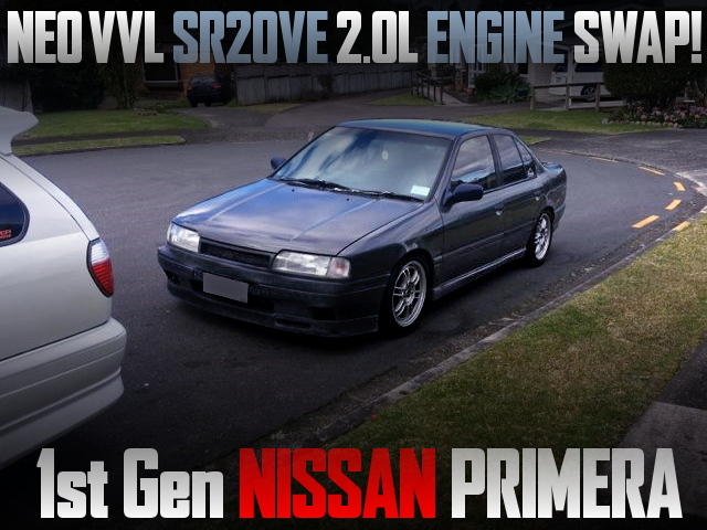 NEO VVL SR20VE ENGINE SWAP P10 NISSAN PRIMERA