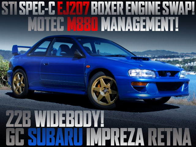 22B WIDEBODY REPLICA OF IMPREZA RETNA