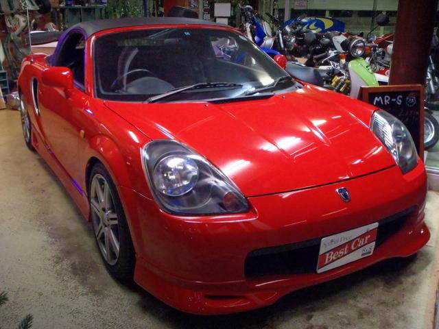 FRONT EXTERIOR TOYOTA MR-S RED
