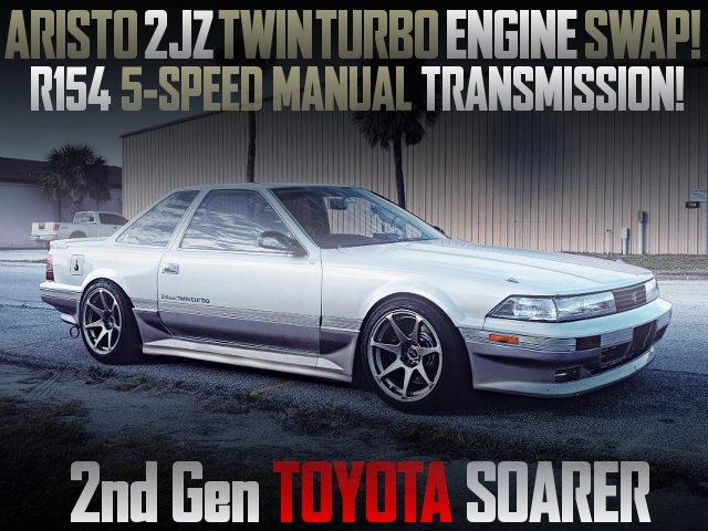 2JZ-GTE TWINTURBO ENGINE Z20 SOARER
