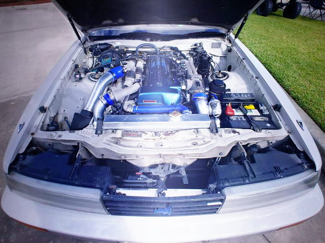 2JZ-GTE TWINTURBO ENGINE