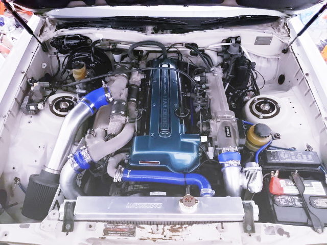 VVT-i 2JZ TWINTURBO ENGINE