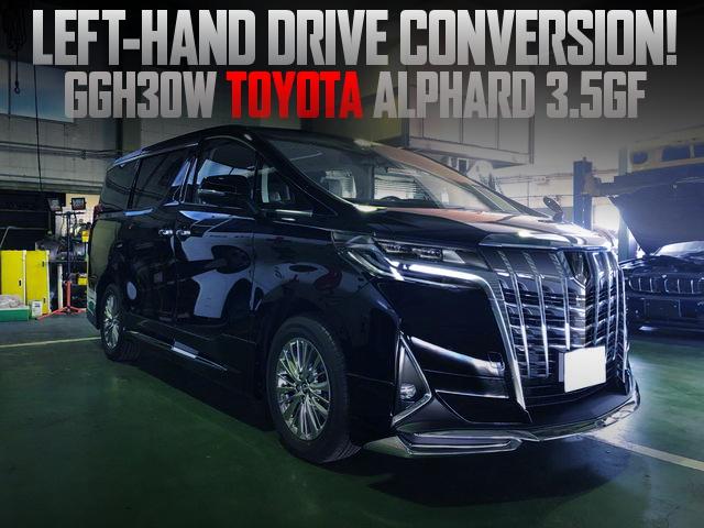 LEFT HAND DRIVE CONVERT 3RD GEN ALPHARD