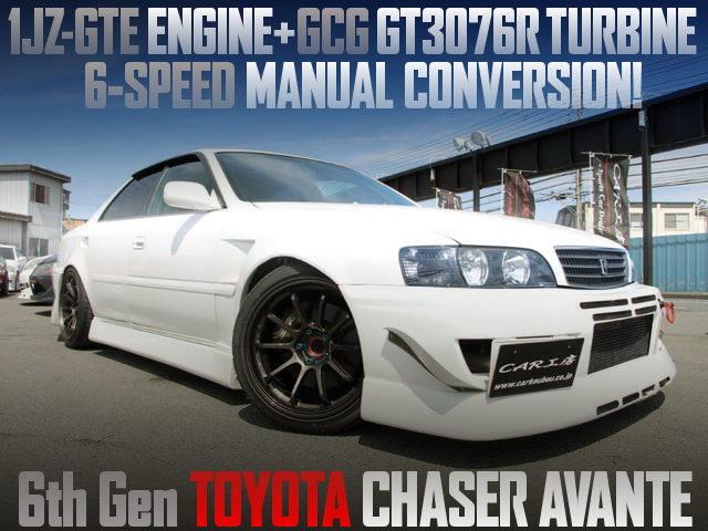 1JZ-GTE GCG GT3076R TURBO ENGINE 6MT 100 CHASER AVANTE
