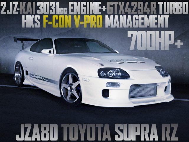 700HP OVER JZA80 SUPRA RZ