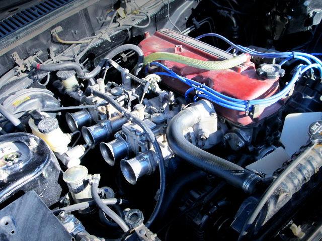 Z18 1800cc ENGINE WITH SOLEX CARBURETORS