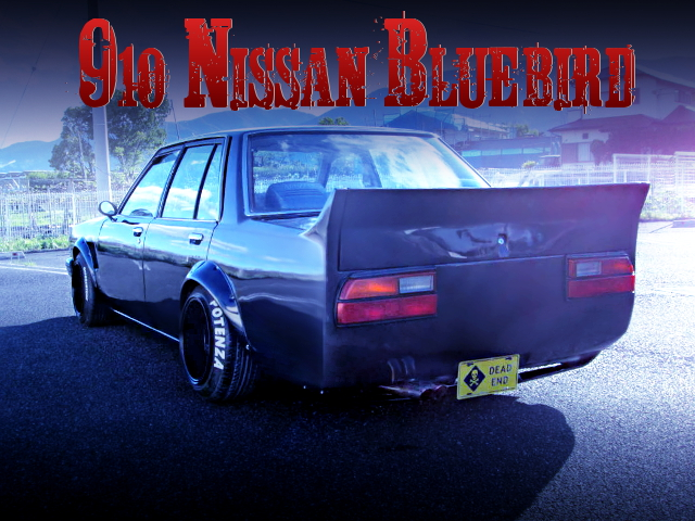 KAIDO RACER 910 BLUE BIRD 4-DOOR SEDAN