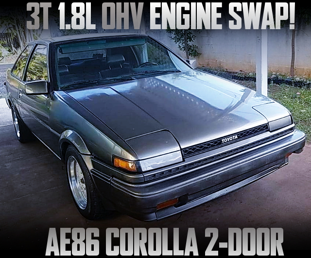 3T 1800cc OHV CARBURETOR ENGINE AE86 COROLLA