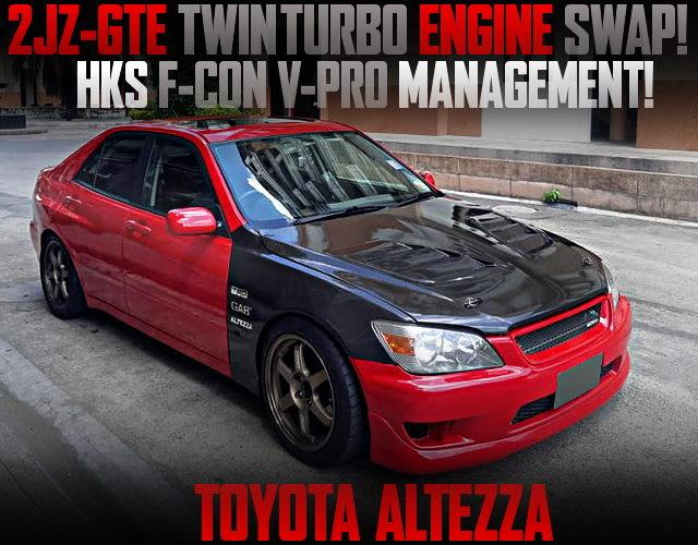 2JZ-GTE TWINTURBO ENGINE ALTEZZA