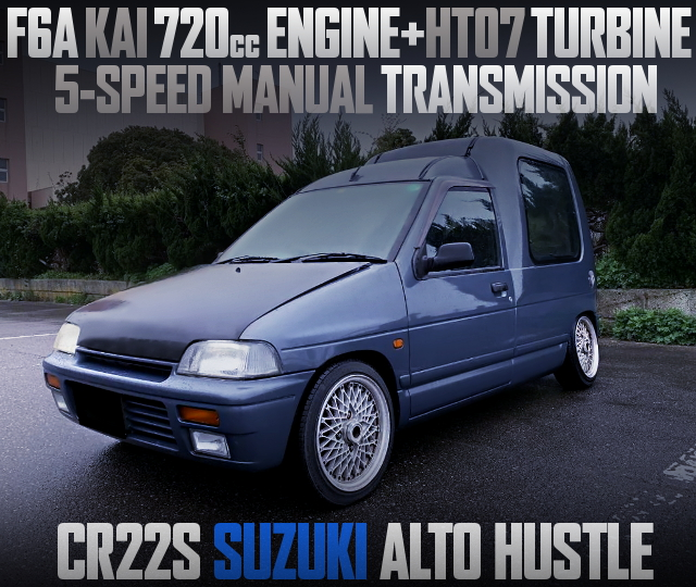 F6A 720cc AND HT07 TURBO WITH CR22S ALTO HUSTLE