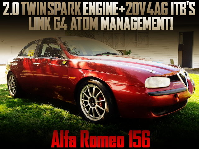 TWIN SPARK ENGINW AND 4AG ITBs WITH ALFAROMEO 156