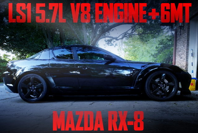 LS1 V8 ENGINE AND 6MT WITH MAZDA RX8