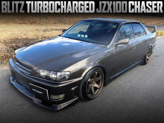 BLITZ TURBOCHARGED JZX100 CHASER TOURER-V