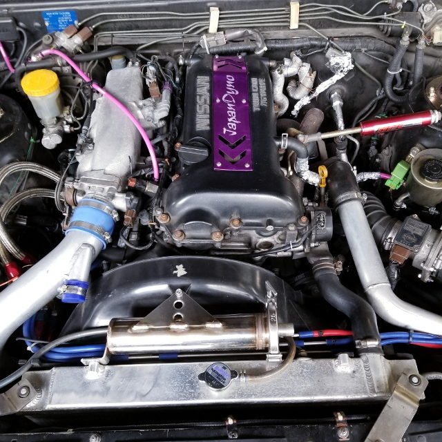 S14 SR20DET TURBO ENGINE