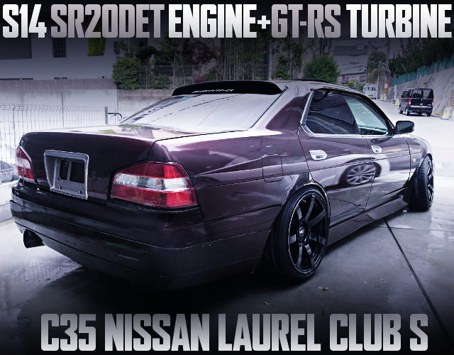 SR20DET ENGINE AND GT-RS TURBO C35 LAUREL