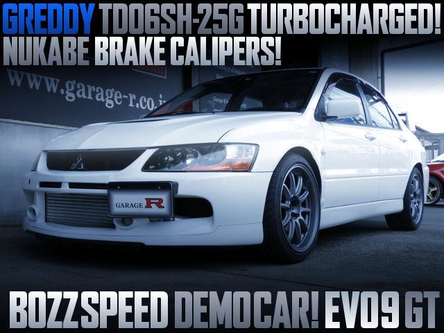 BOZZ SPEED DEMO CAR FOR LANCER EVOLUTION 9 GT