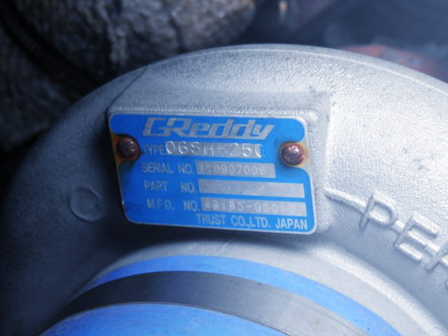 GREDDY TD06SH-25G TURBO