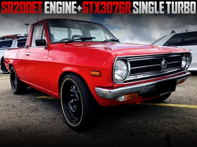 SR20DET ENGINE AND GTX3076R TURBO WITH DATSUN 1200 UTE