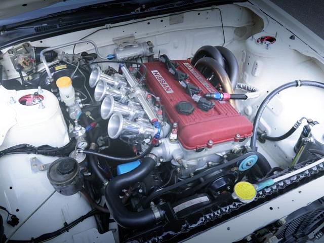 ITBs ON FJ20 2000cc ENGINE