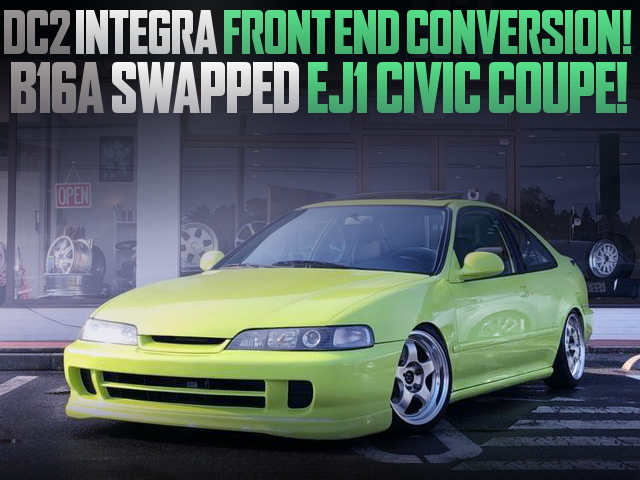 INTEGRA FRONT END EJ1 CIVIC COUPE