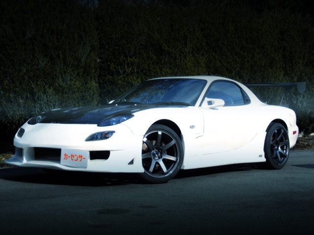 FRONT EXTERIOR OF FD3S RX-7